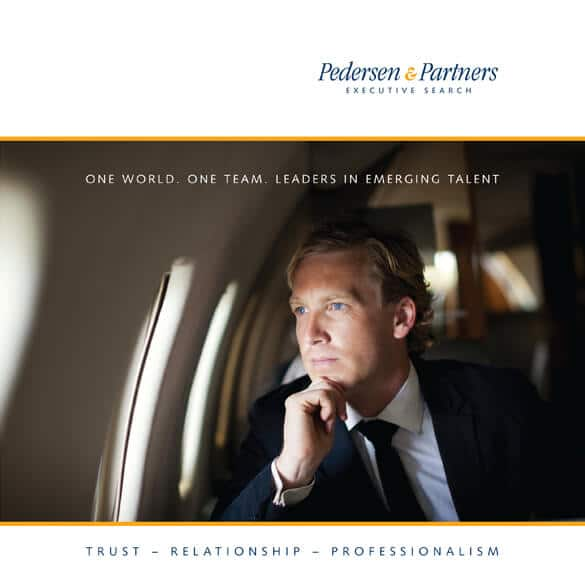 Pedersen & Partners Executive Search company brochure