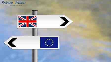Executive Search on the brink of Brexit - Pedersen and Partners Executive Search