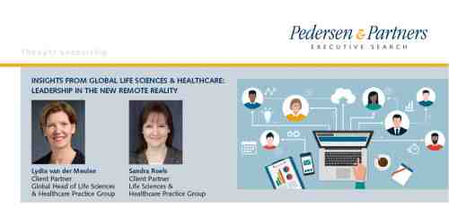 Insights from Global Life Sciences & Healthcare: Leadership in the new remote reality